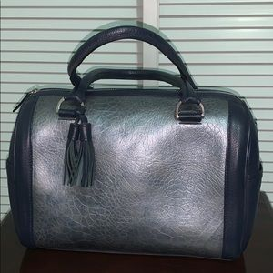 100%Leather Satchel Bag